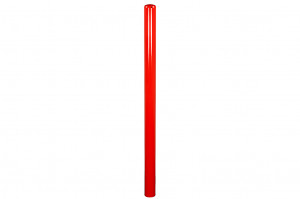 Afschermpaal aardebaan rood 114 x 2000 mm.